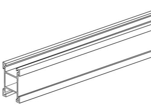 Alu-Plakatschiene 20x20mm, Länge 1000mm