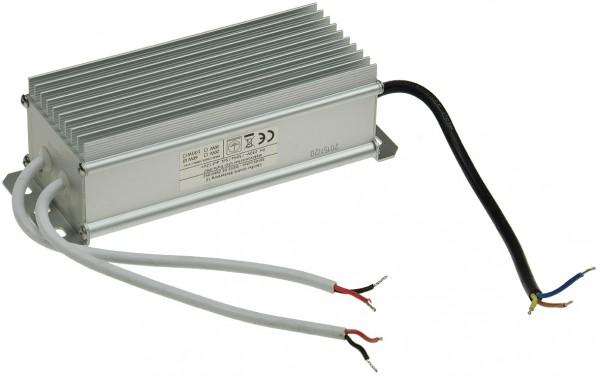 elektronischer LED-Trafo IP67, 1-60 Watt Ein 170-250V, Aus 12V=, wasserdicht